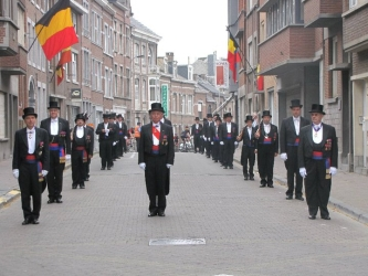 Francs  Arquebusiers, les Officiers